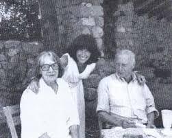 Claude et Réa simon avec Mireille Calle Gruber