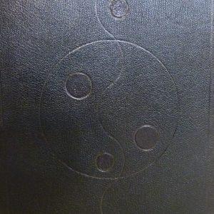 Douze cent mille de Luc Durtain, plein cuir. Signe de Kish-oskh.