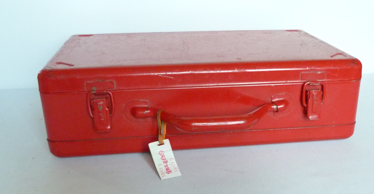 penderie : recension de mon matériel de reliure, valise fermée