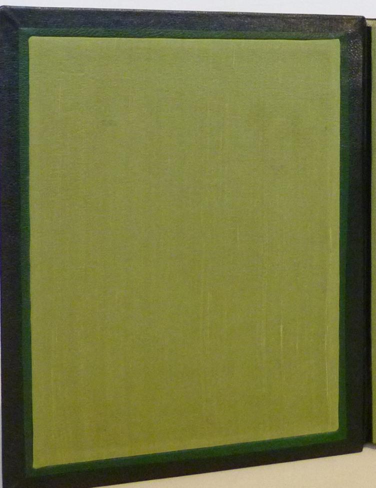 Douze cent mille de Luc Durtain, plein cuir. Garde en soie naturelle