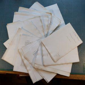 L'ordination, cahier de la quinzaine, cahiers défaits