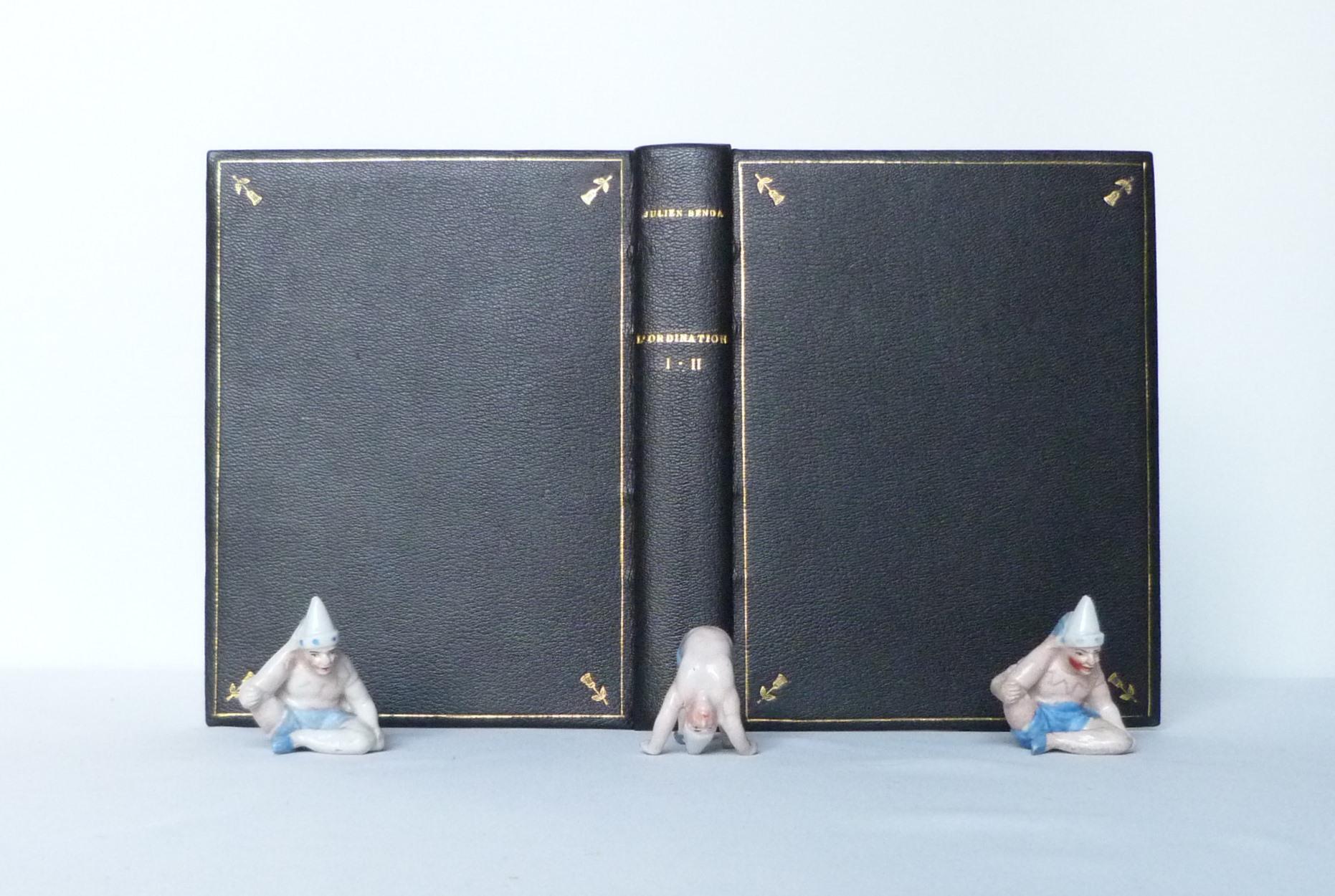 L'ordination, cahier de la quinzaine, plats ouverts