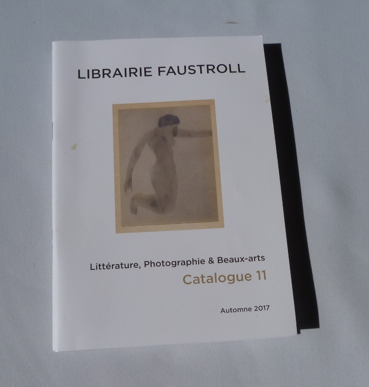 L'acacia de Claude Simon : catalogue Faustroll