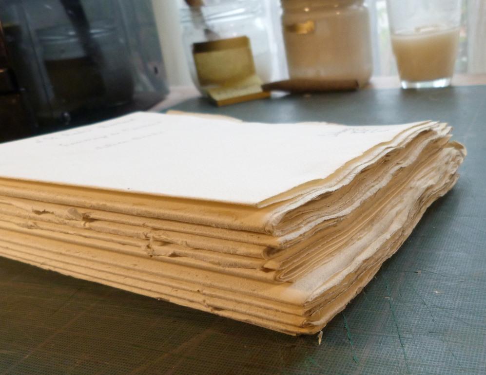 Comblage en queue : les cahiers de tailles différentes