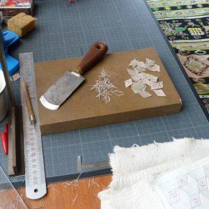 Carnet au pavage cratyléen(2) : motifs gris