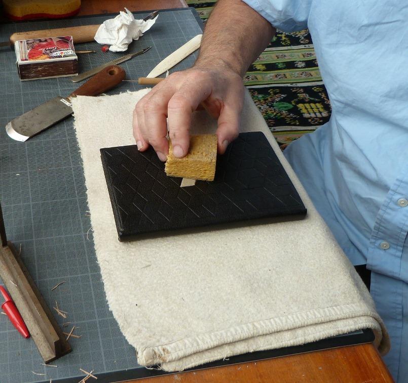 Carnet au pavage cratyléen(2) : nettoyage à l'éponge