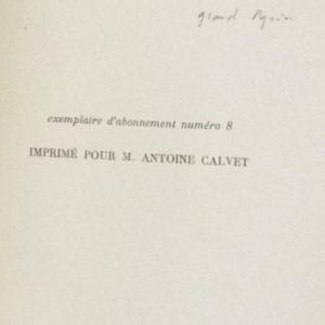 Tolstoï vivant de Suarès : imprimé pour