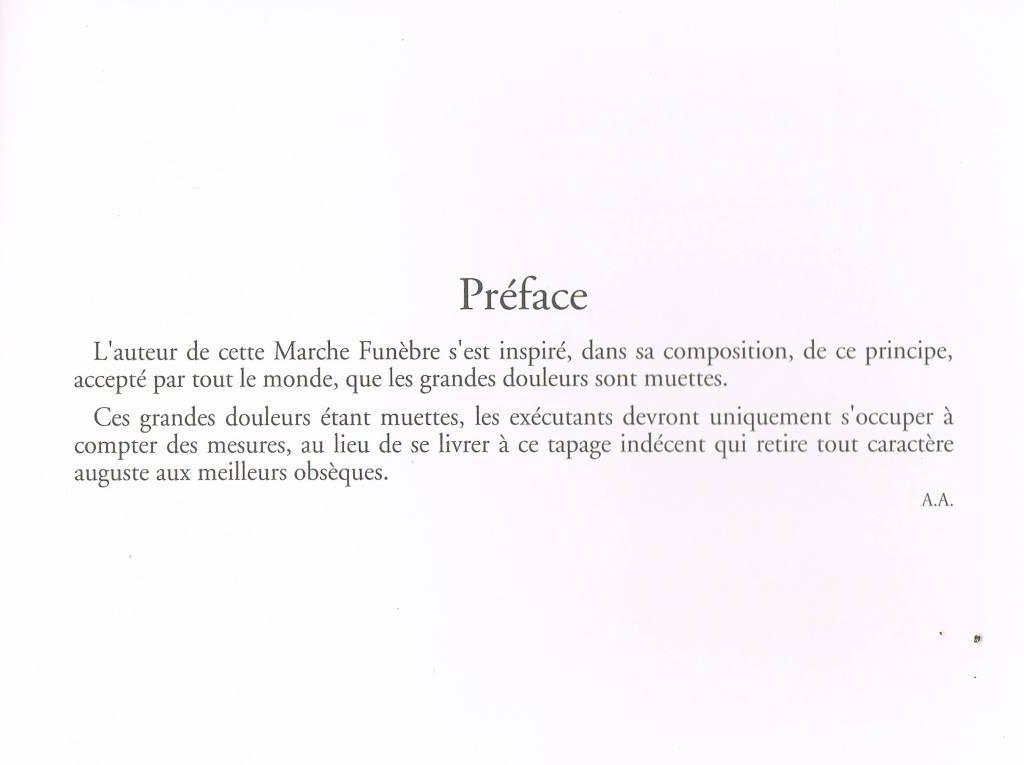album primo-avrilesque : deuxième préface