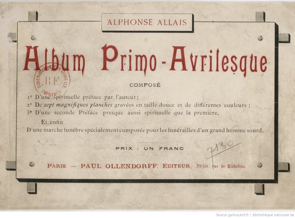 album primo-avrilesque : edition originale