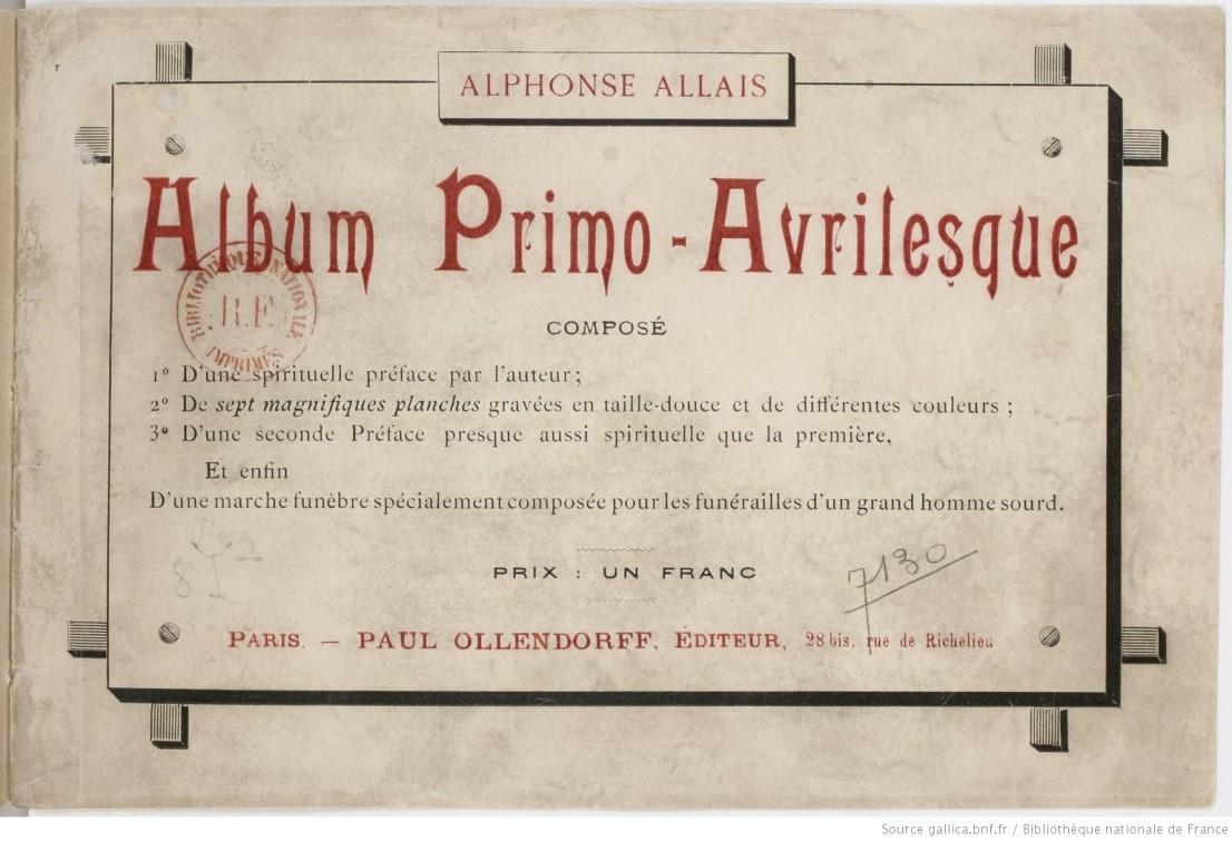 album primo-avrilesque : edition originale