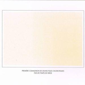 album primo-avrilesque : blanc