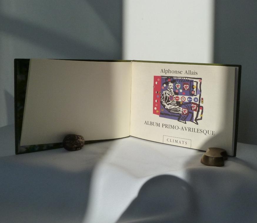 album primo-avrilesque : une de couverture