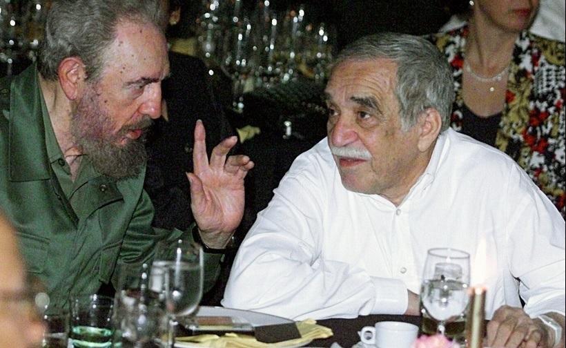 Cent ans de solitude : photo avec Castro