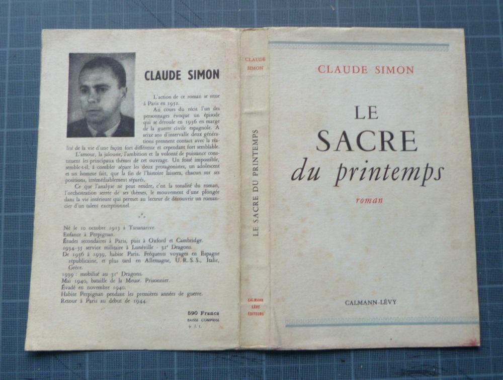 Le Sacre du printemps : couverture du livre