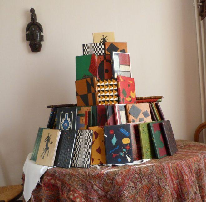 Carnets de notes : en pyramide