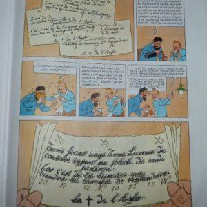 Carnets de notes (2007-2008), procédé Tintin
