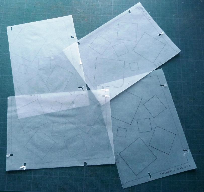 Carnets de notes (2007-2008), 4 calques
