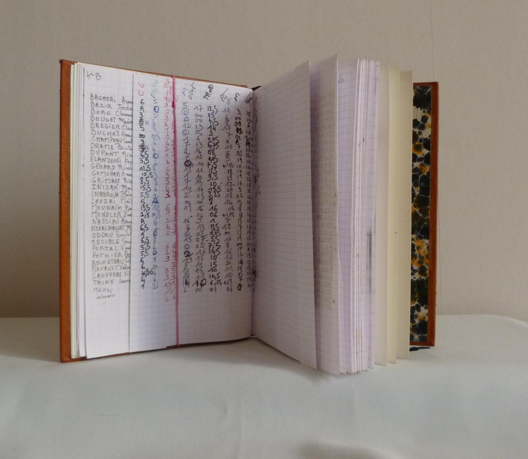Carnets de notes (2007-2008), son contenu