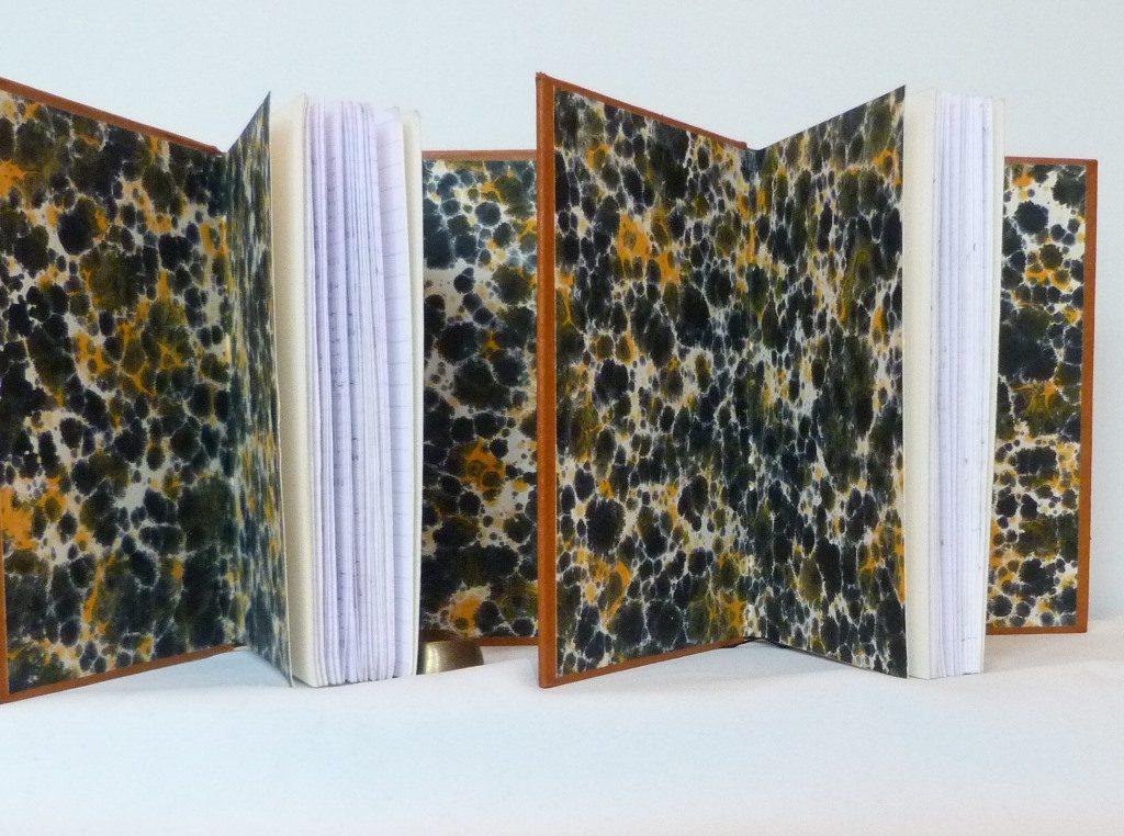 Carnets de notes (2007-2008), gardes couleur