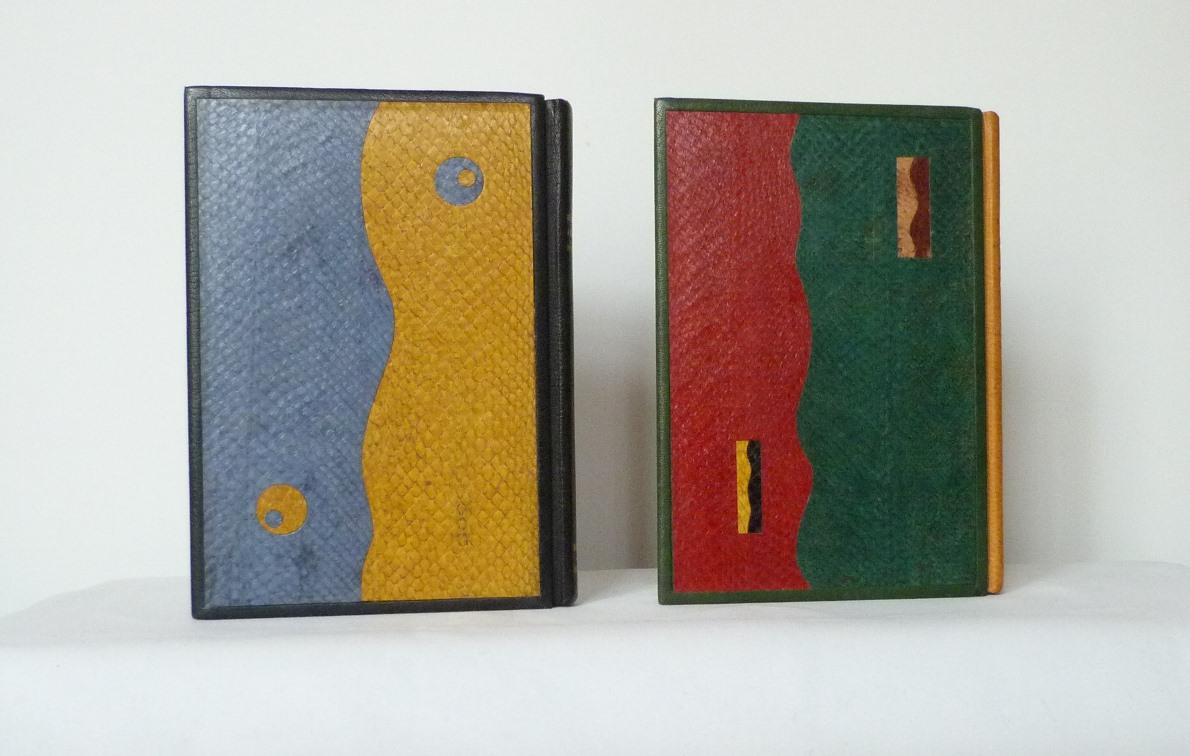 Carnets de notes (1993-1994) : plats postérieurs.