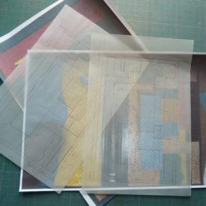 Carnets de notes (1993-1994) : calques