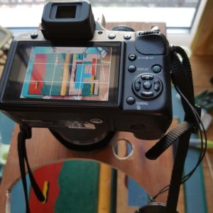 Carnets de notes (1993-1994) : support appareil de photos.