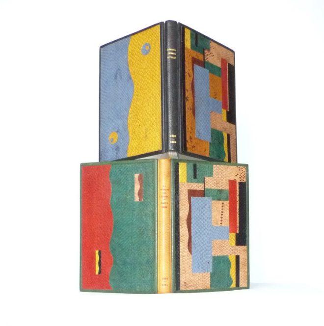 Carnets de notes (1993-1994) : l'un sur l'autre