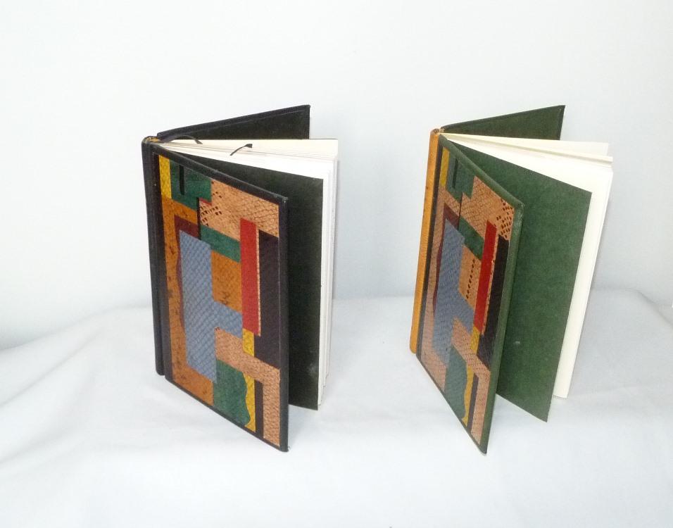 Carnets de notes (1993-1994) : vue du dessus