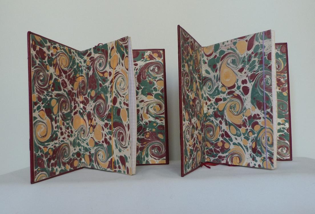 Carnets de notes (1999-2000), gardes.