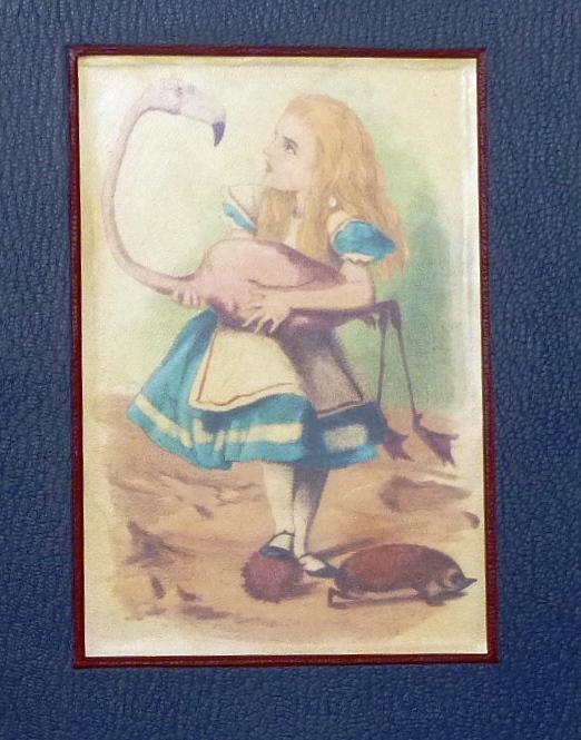 Alice au pays des merveilles, plat recto