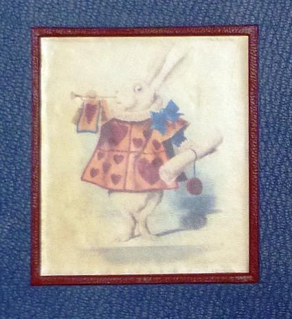 Alice au pays des merveilles, plat verso