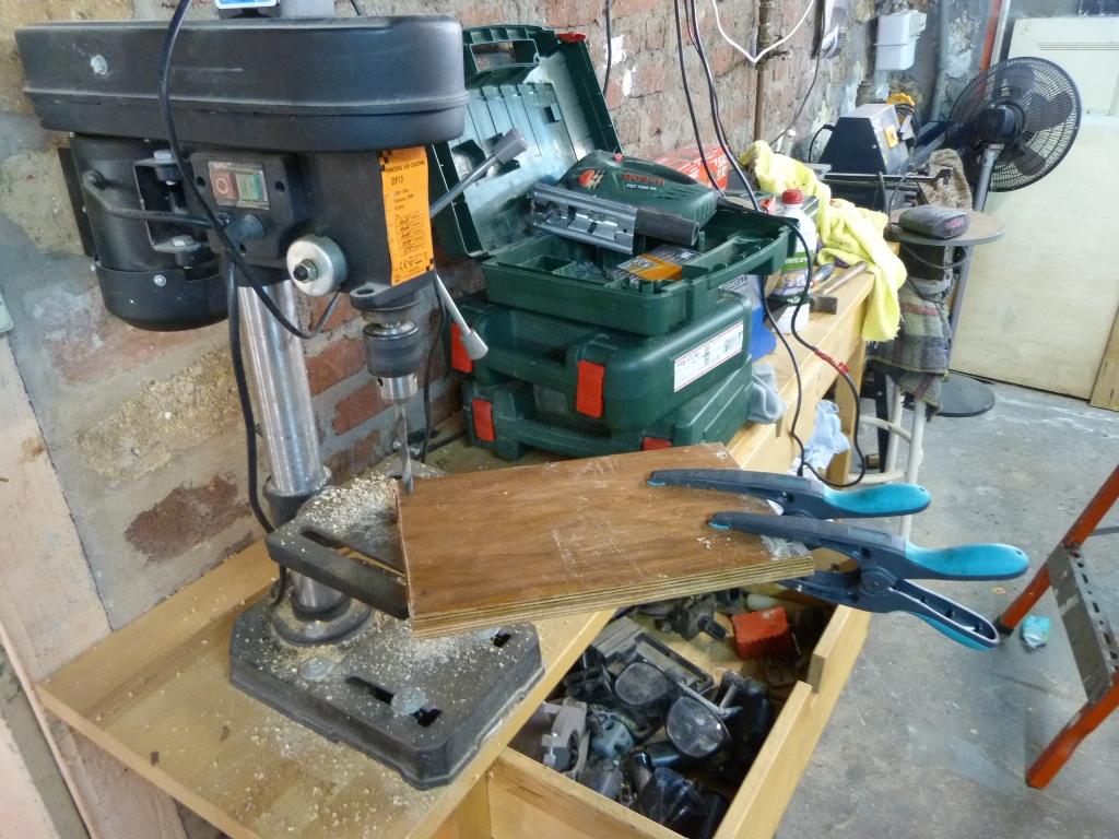 machine célibataire, garage