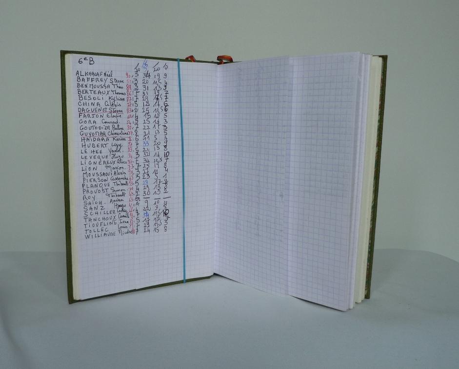 Carnets de notes (2006-2007), les notes.