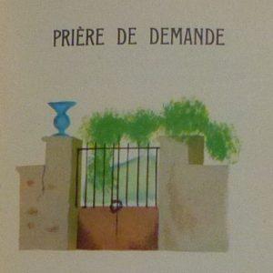 Cinq prières, vignette de Nathalie Parain.