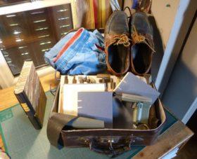 Mes devoirs de grandes vacances, valise.