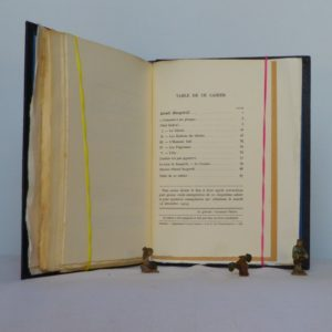 Israël zangwill, cahier de la quinzaine, table des matières.