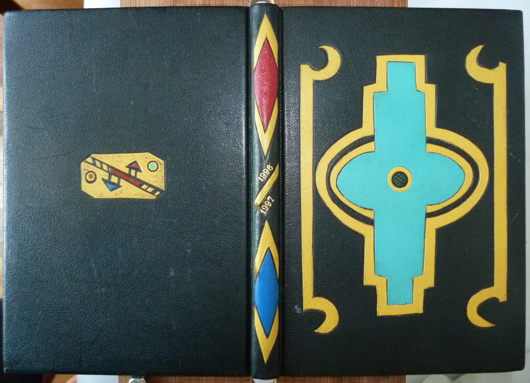 Carnets de notes (1996-1997), inspiration Ndébélé.