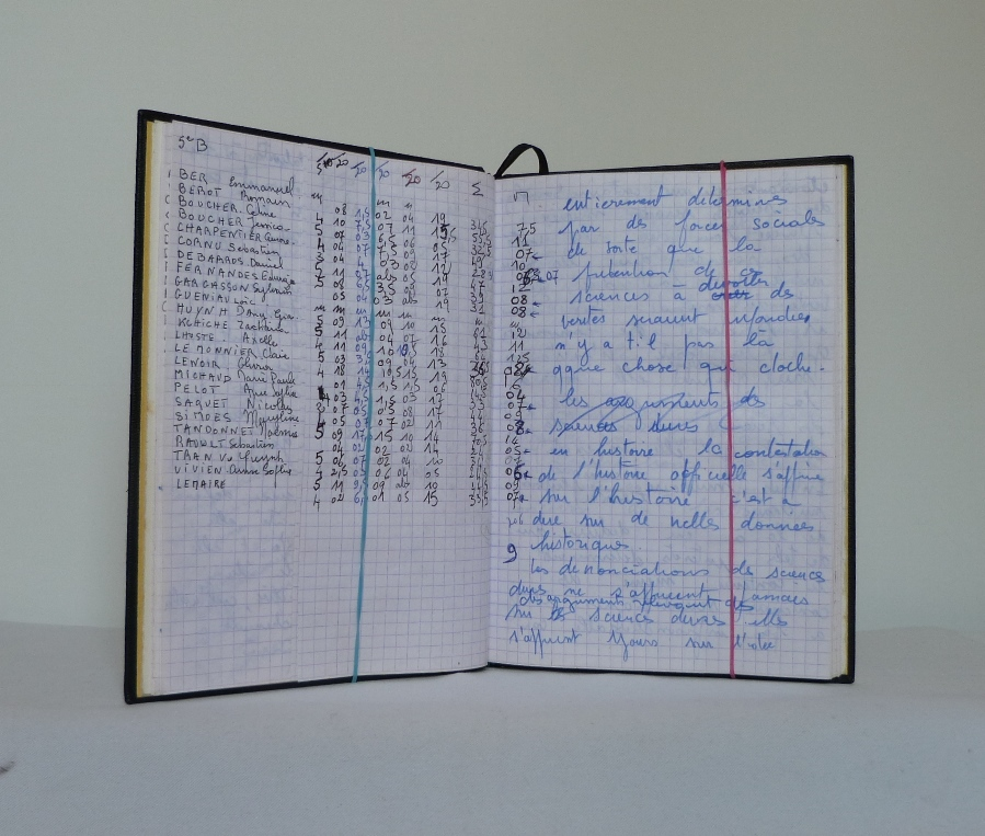 Carnets de notes (1996-1997), inspiration Ndébélé notes.