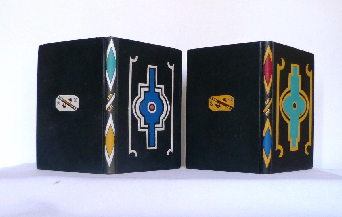 Carnets de notes (1996-1997), inspiration Ndébélé : paire.