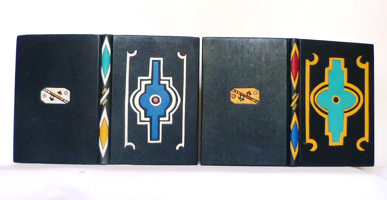 Carnets de notes (1996-1997), inspiration Ndébélé : paire.