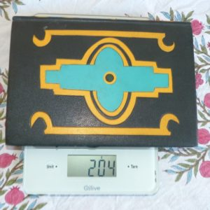 Carnets de notes (1996-1997), inspiration Ndébélé : poids.
