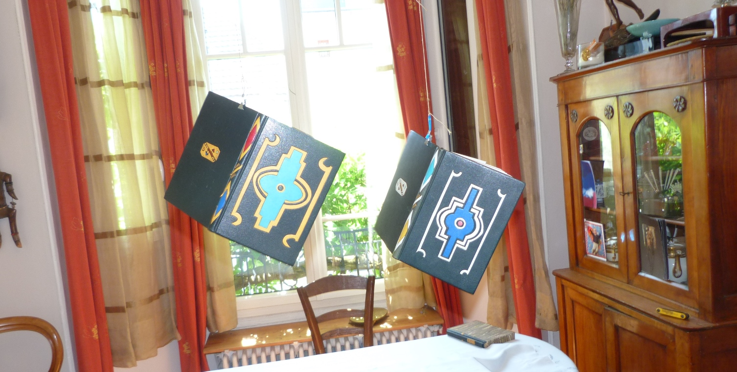 Carnets de notes (1996-1997), inspiration Ndébélé lévitation.