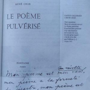 Le poème pulvérisé 1