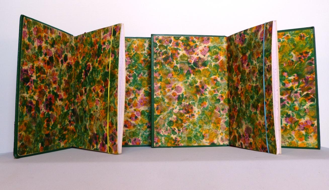 Carnets de notes (2003-2004), gardes couleur.