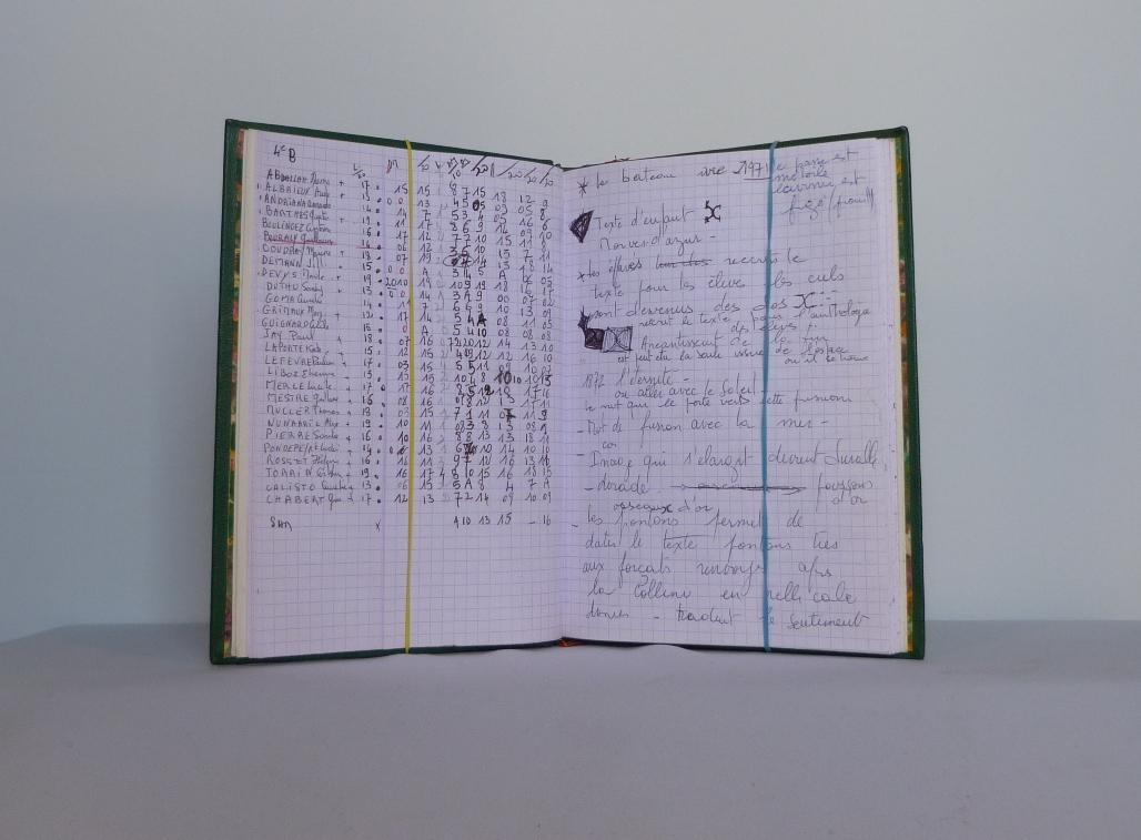 Carnets de notes (2003-2004), notes.