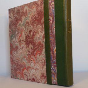 Le poème pulvérisé 2, livre chemisé et emboité.