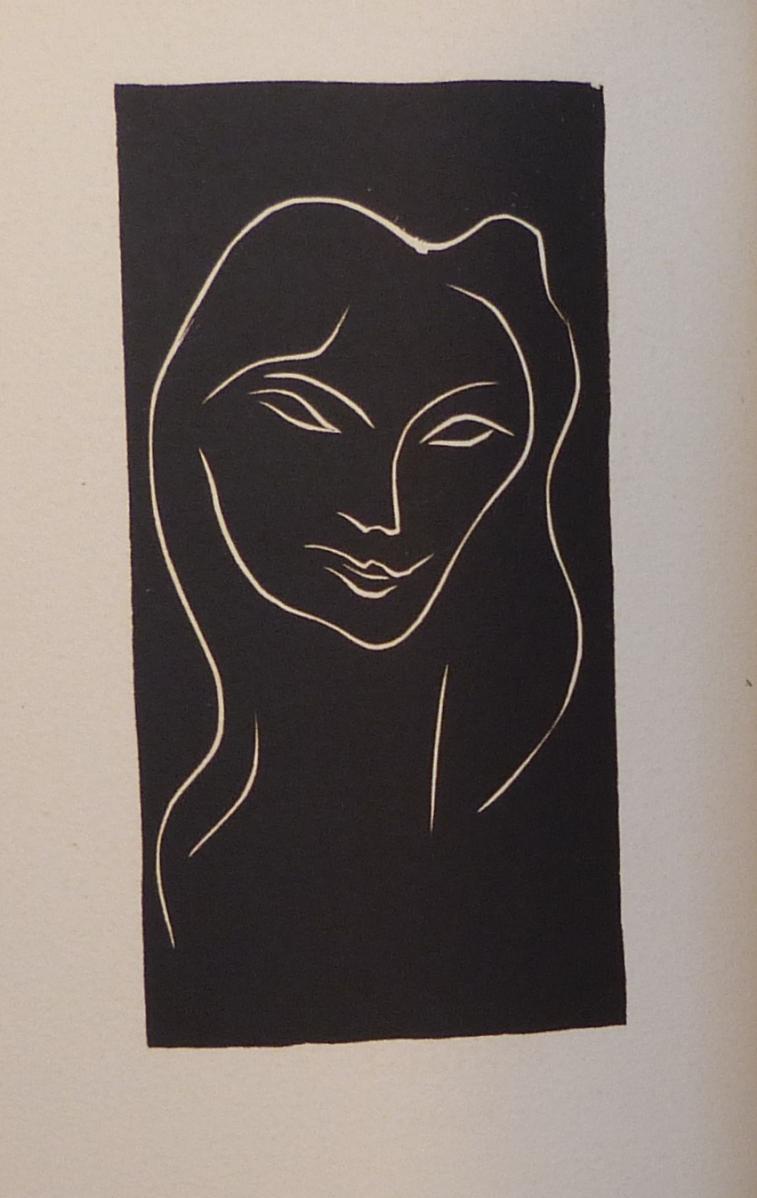Le poème pulvérisé 2, gravure de Matisse.