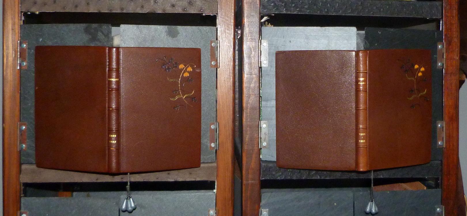 Carnets de notes (2002-2003) , paire.