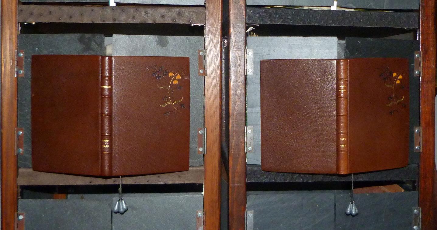 """Carnets de notes (2002-2003) """", paire."""