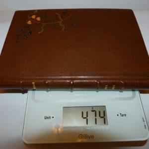 Carnets de notes (2002-2003) , poids.